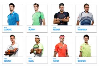 ATPワールドツアーファイナル2015