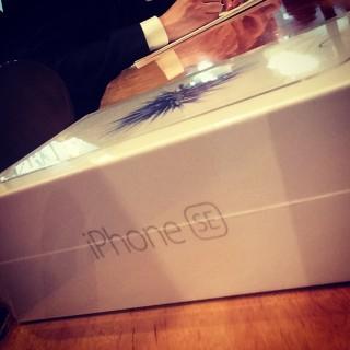 iPhoneSEと格安SIMのmineoにしてみた