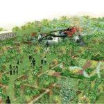 大阪駅からすぐの大庭園、うめきたガーデン開発のお手伝いをしてきた