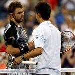 【テニスの全米オープン2016準決勝】錦織 vs ワウリンカ戦の動画