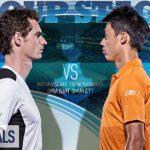 【錦織 vs マレー戦の動画】ATPワールドツアーファイナル2016@ロンドン