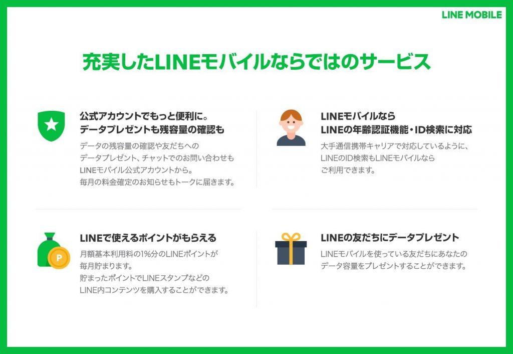 LINEモバイル6