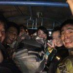 10)ラオス旅行のメンバー集結
